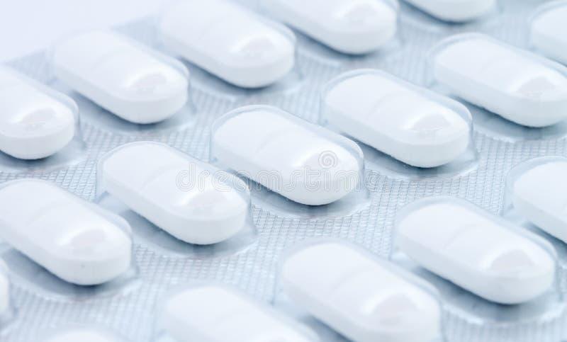 在天线罩包装的空白药片 库存图片
