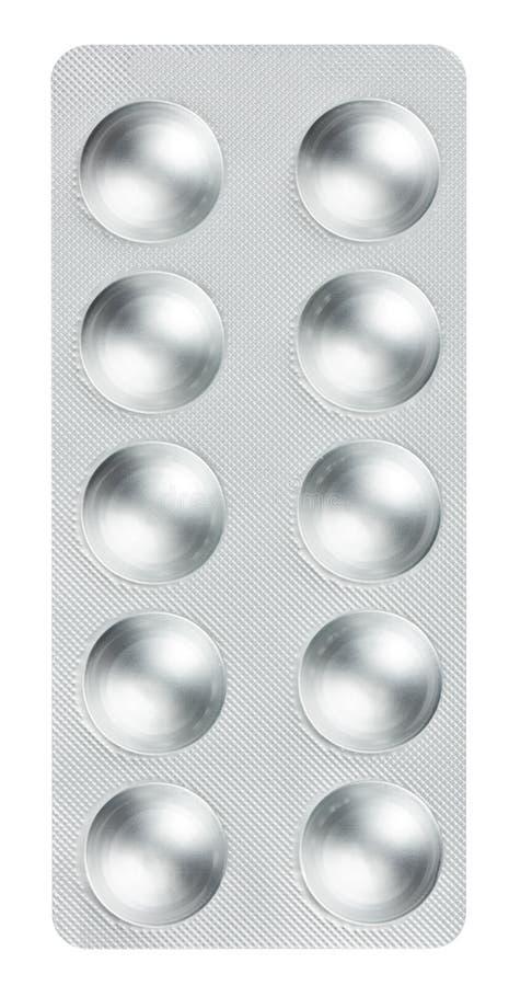 在天线罩包装的药片 库存照片