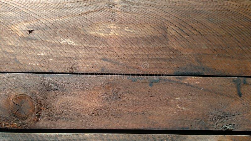 在天花板的色的木头 图库摄影