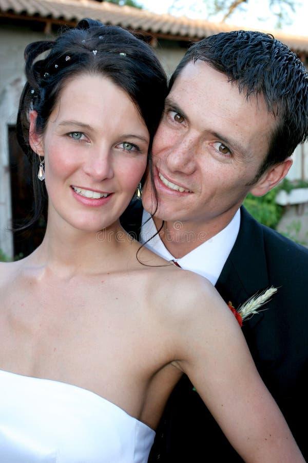 在夫妇之后 免版税库存图片