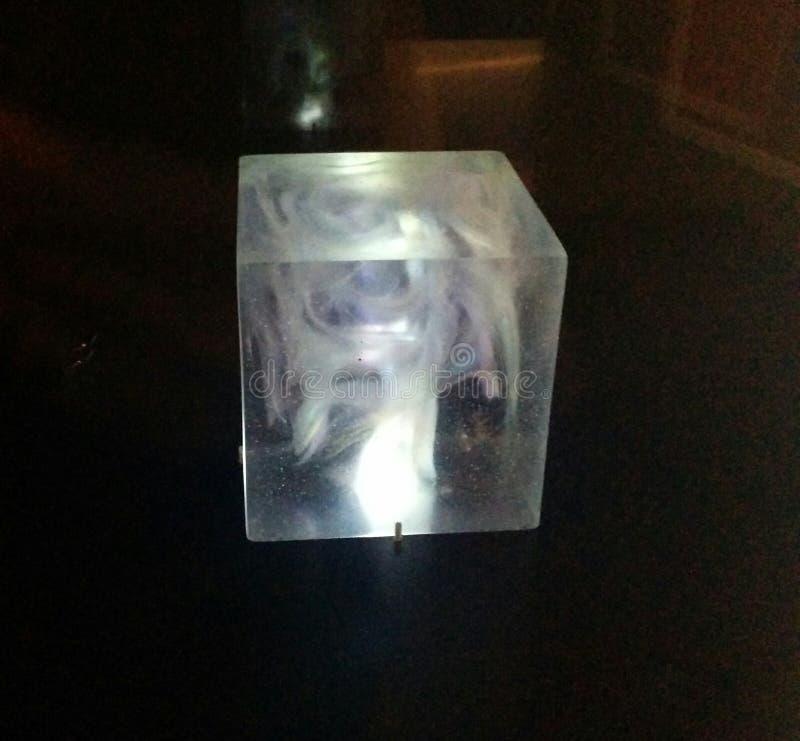在奇迹展览的宇宙立方体Tesseract在MoPOP在西雅图 免版税库存照片