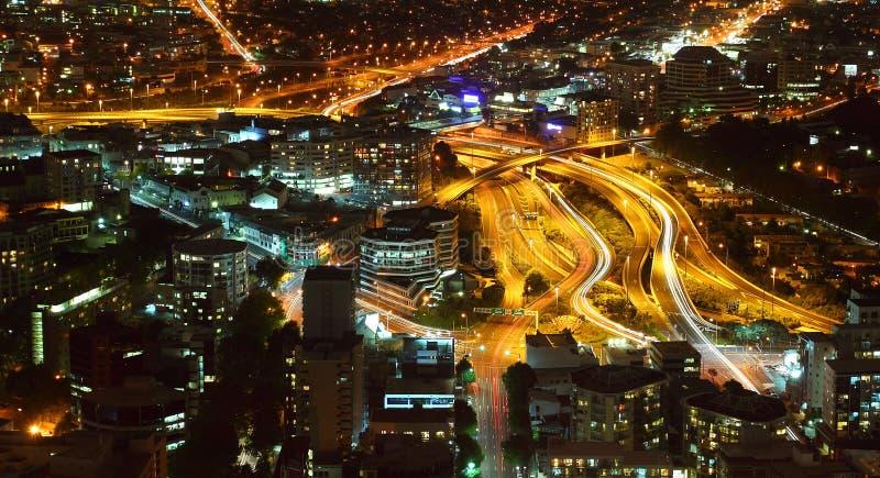在奥克兰的高速公路no1 库存照片
