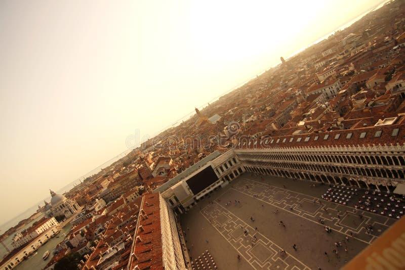 在威尼斯的视图 免版税库存照片