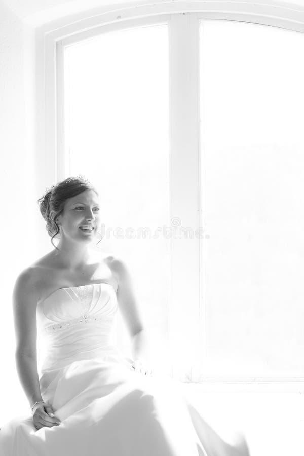 在婚礼之前 库存图片