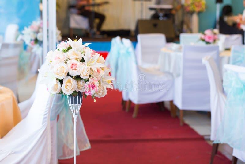 在婚礼的花瓶 免版税图库摄影
