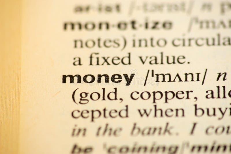 在字典的词成功 免版税库存图片