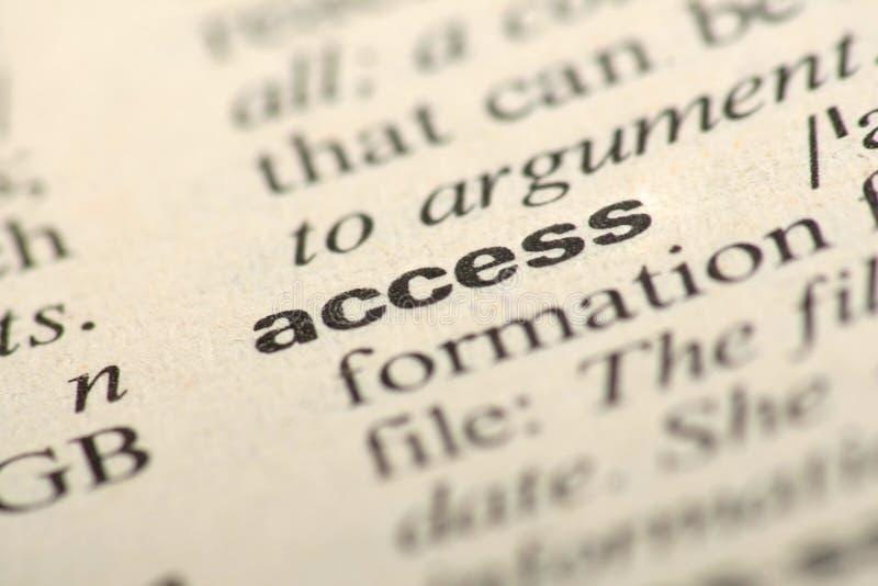 在字典的词通入 库存照片