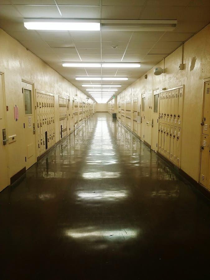 在学校以后 库存图片