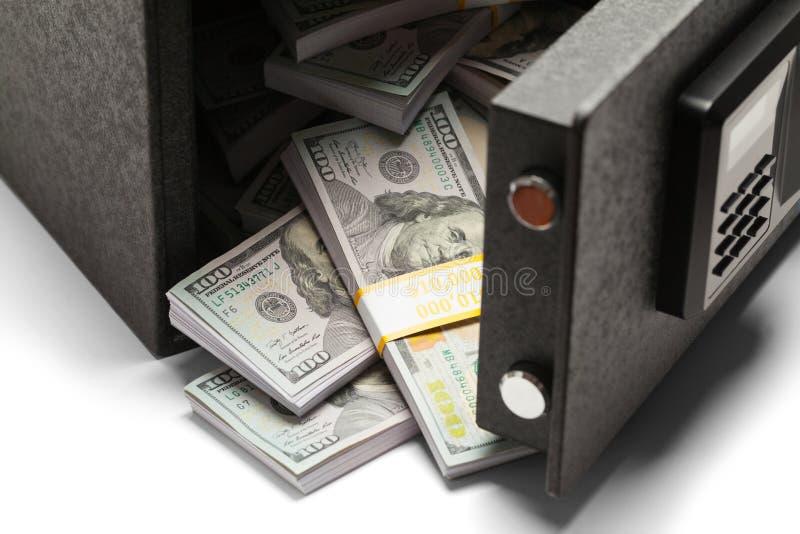 在安全的货币 免版税库存照片