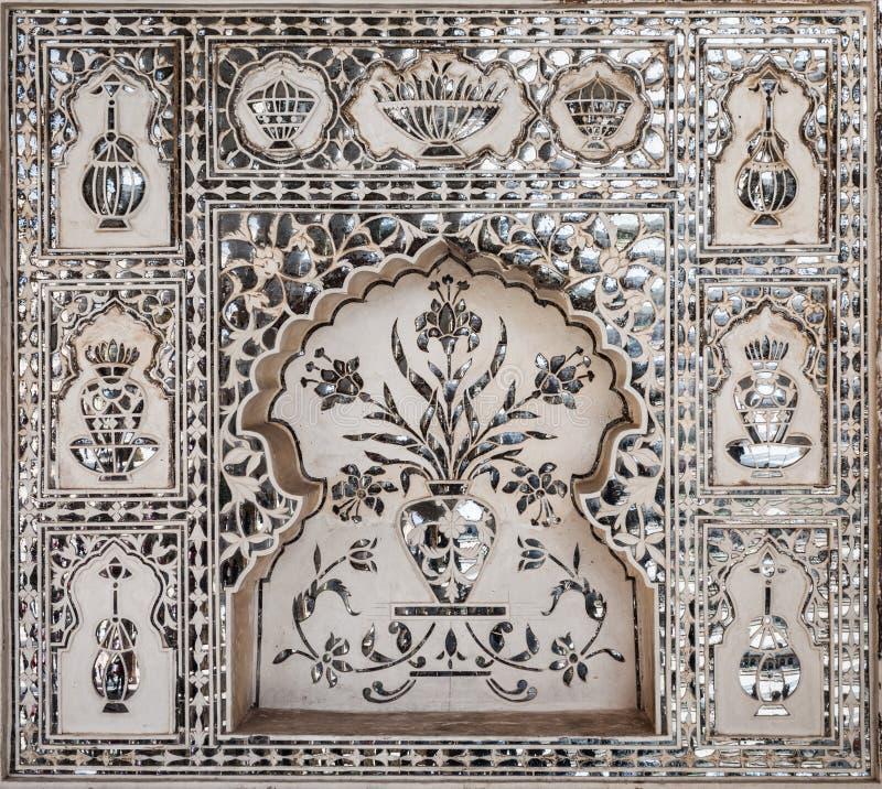 在宫殿的样式,斋浦尔 免版税图库摄影