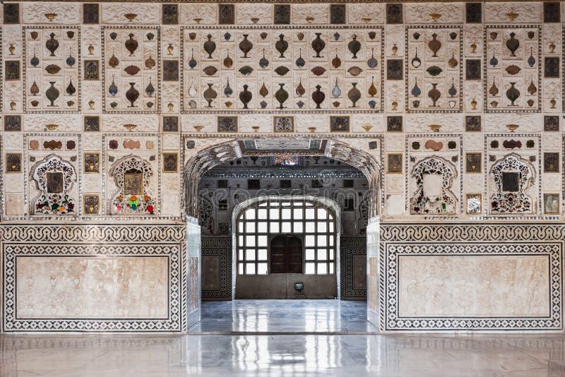 在宫殿的样式,斋浦尔 免版税库存照片