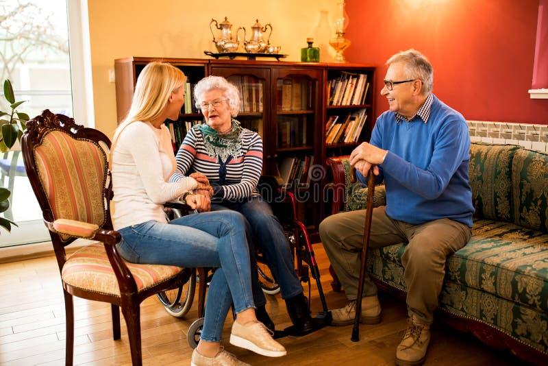 在家拜訪祖父母和有與他們的美好的時間公式數學初中傳染問題圖片