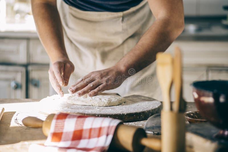 在家烘烤和烹调 免版税图库摄影