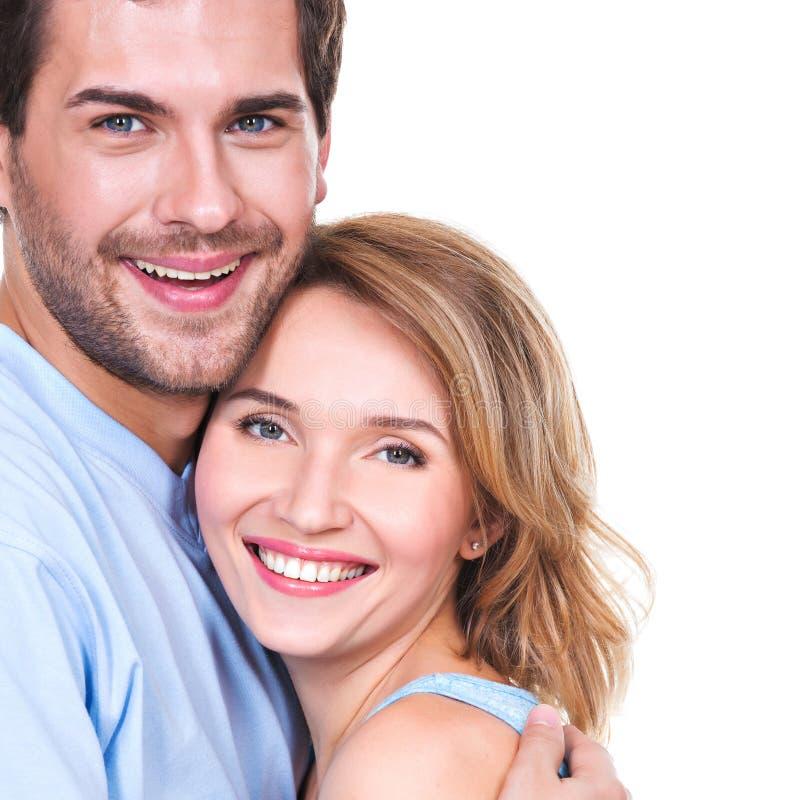在容忍的愉快的年轻夫妇 图库摄影