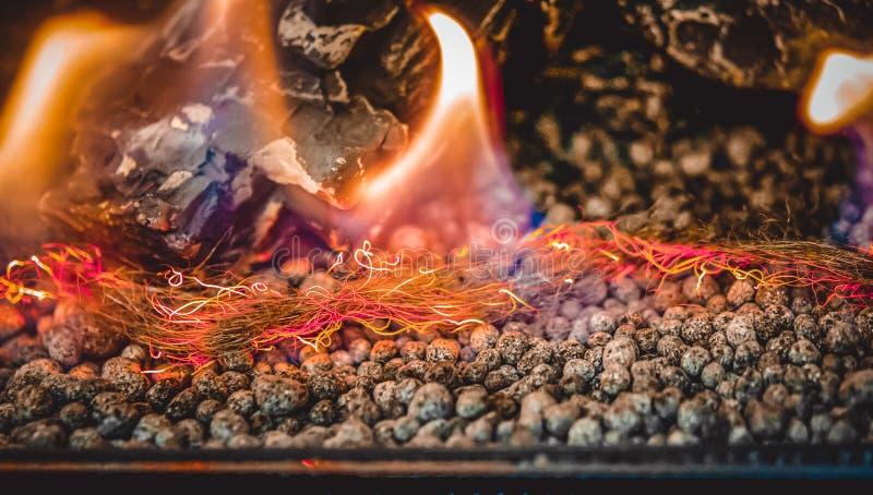 在对氨基苯甲酸二特写镜头的当代生物燃料 节能创新 免版税图库摄影