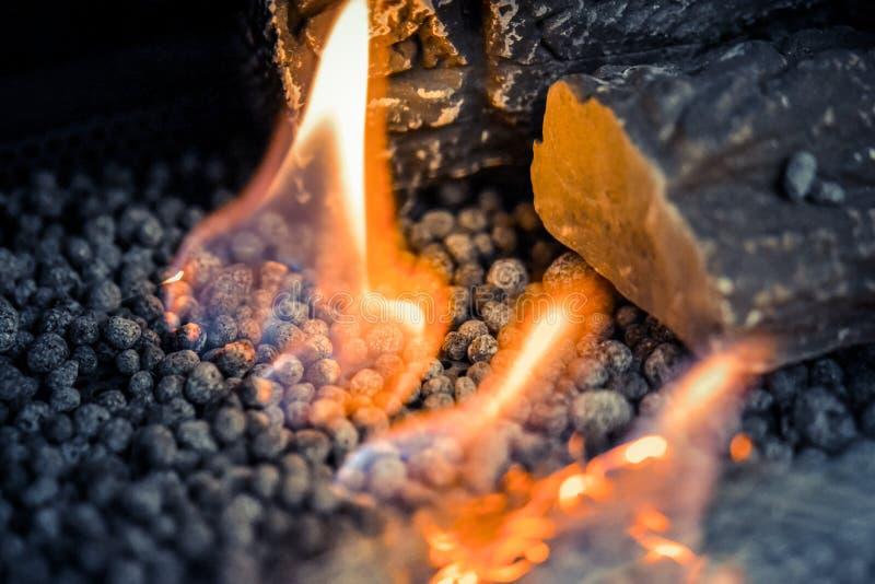 在对氨基苯甲酸二特写镜头的当代生物燃料 E 图库摄影