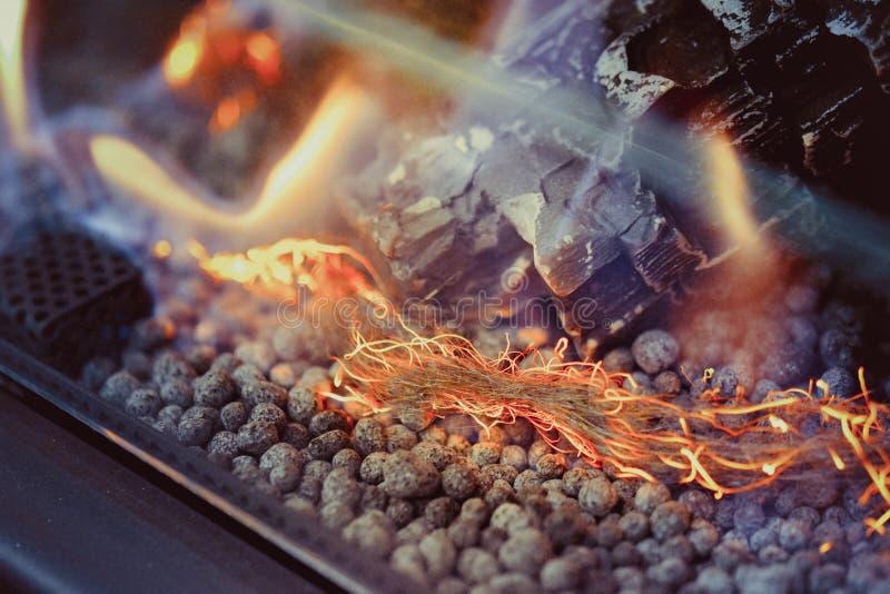 在对氨基苯甲酸二特写镜头的当代生物燃料 E 免版税图库摄影