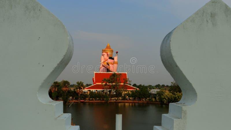 在寺庙的Ganesha 图库摄影