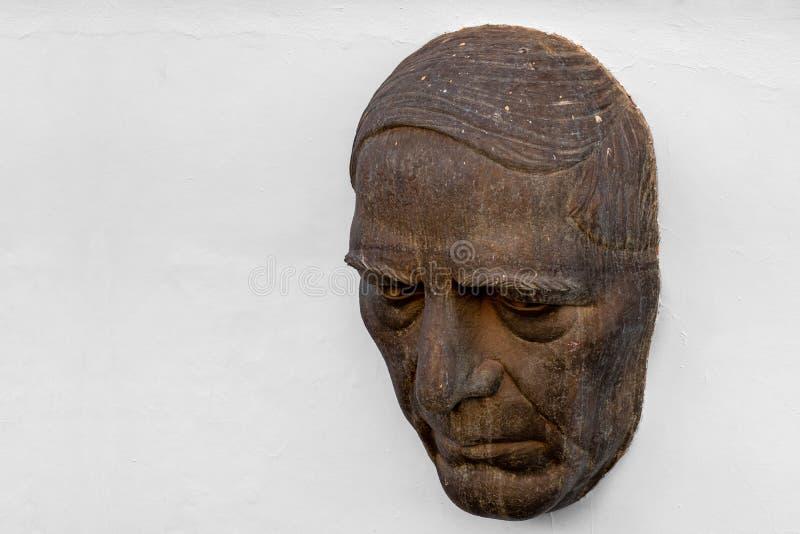 在尊敬的纪念碑对贝尼托・胡亚雷斯 免版税库存图片