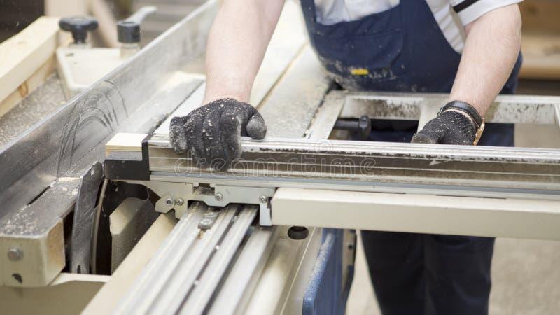 在小家具工厂的手工制造事务 免版税图库摄影