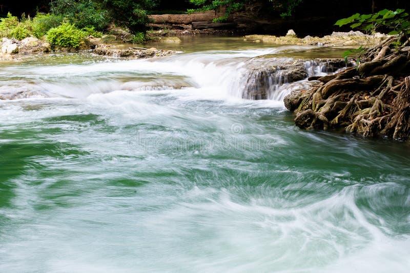 在小河的水 免版税库存图片