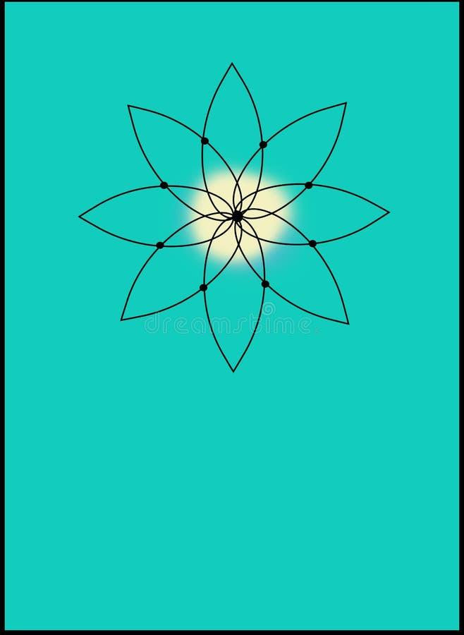 在小野鸭的神圣的瑜伽象 图库摄影
