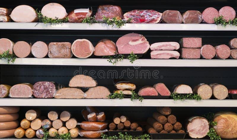 在屠户的肉 库存图片