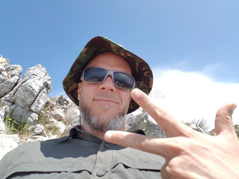 在山顶部的胜利在马尔韦利亚西班牙 图库摄影