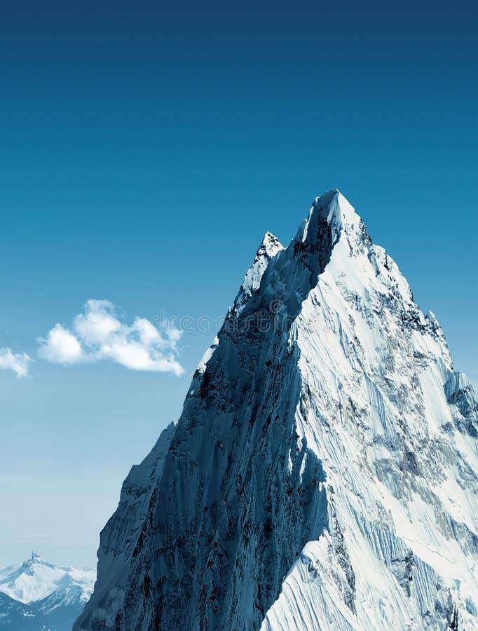 在山顶附近 免版税库存图片
