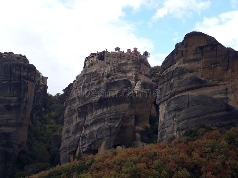 在岩石的秀丽 免版税库存图片