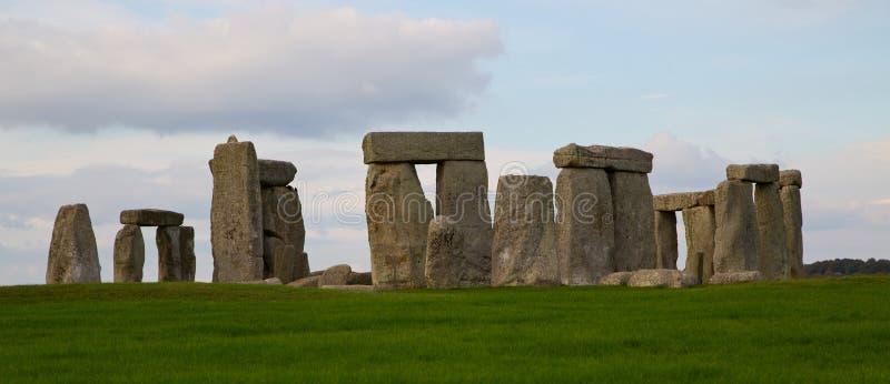 在巨石阵的圈子 免版税库存照片
