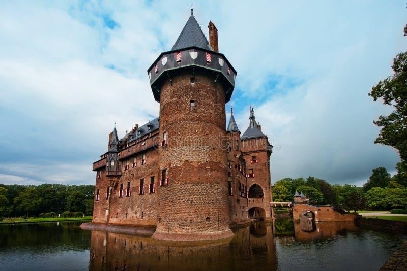 在市乌得勒支附近防御德哈尔在荷兰在夏天 库存照片