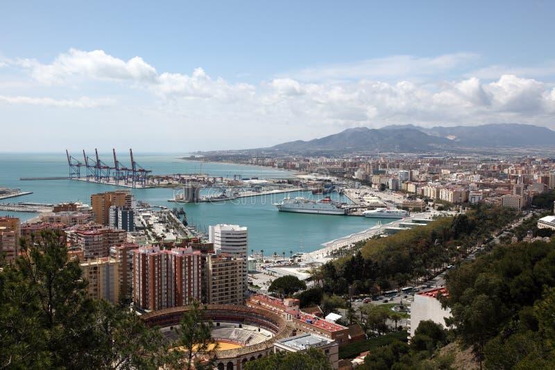 市马拉加,西班牙 免版税库存图片