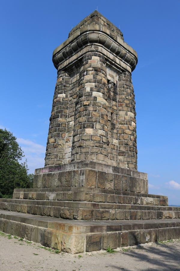 在市的Bismarckturm哈根,德国 库存图片