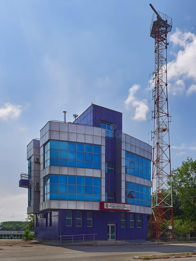 在布勒伊拉,罗马尼亚怀有` s大师办公室 库存照片