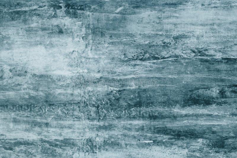 在帆布的深灰油漆污点 与深绿污点的抽象例证在软的背景 创造性的艺术性的背景 Abst 向量例证