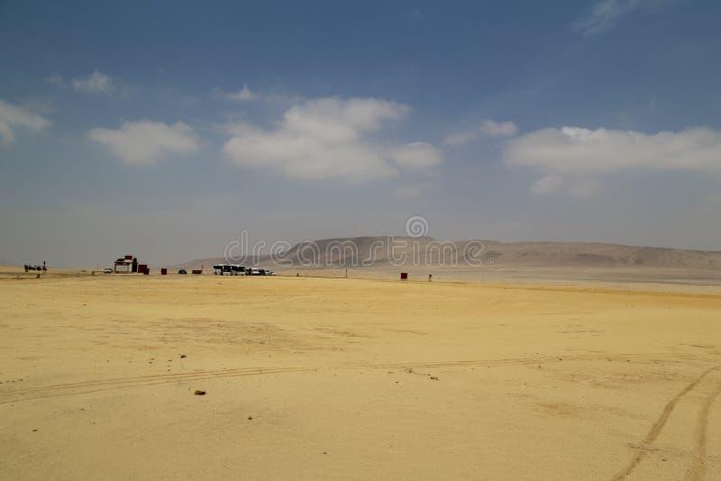 在帕拉卡斯半岛国立公园储备,Pisco,秘鲁的全景风景 库存图片