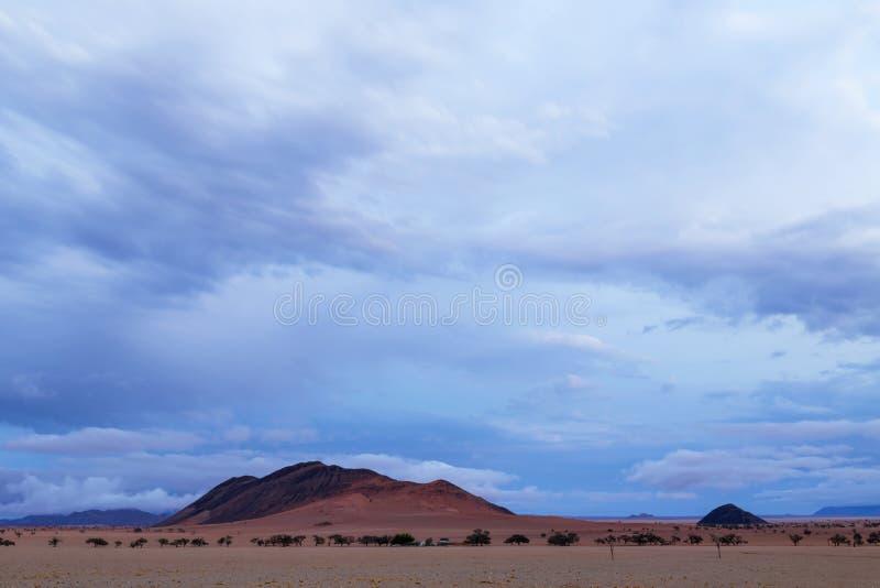 在干燥国家的云彩 库存照片