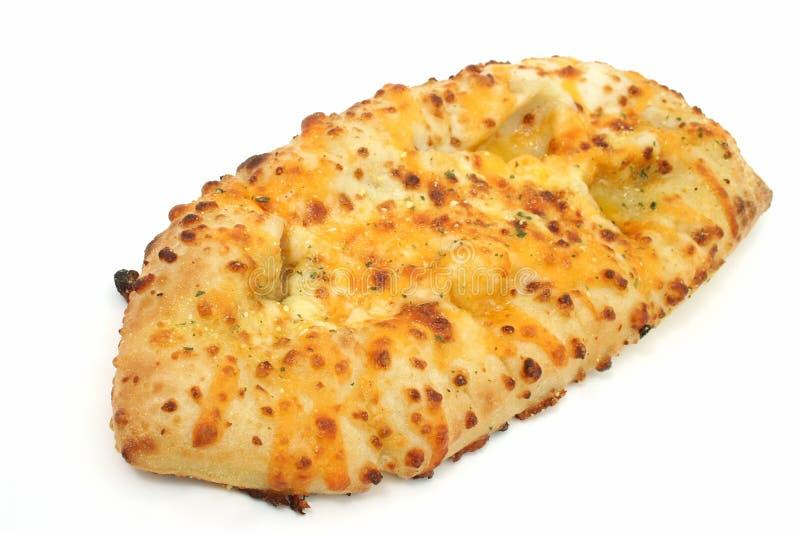 在干酪大蒜上添面包 免版税库存图片
