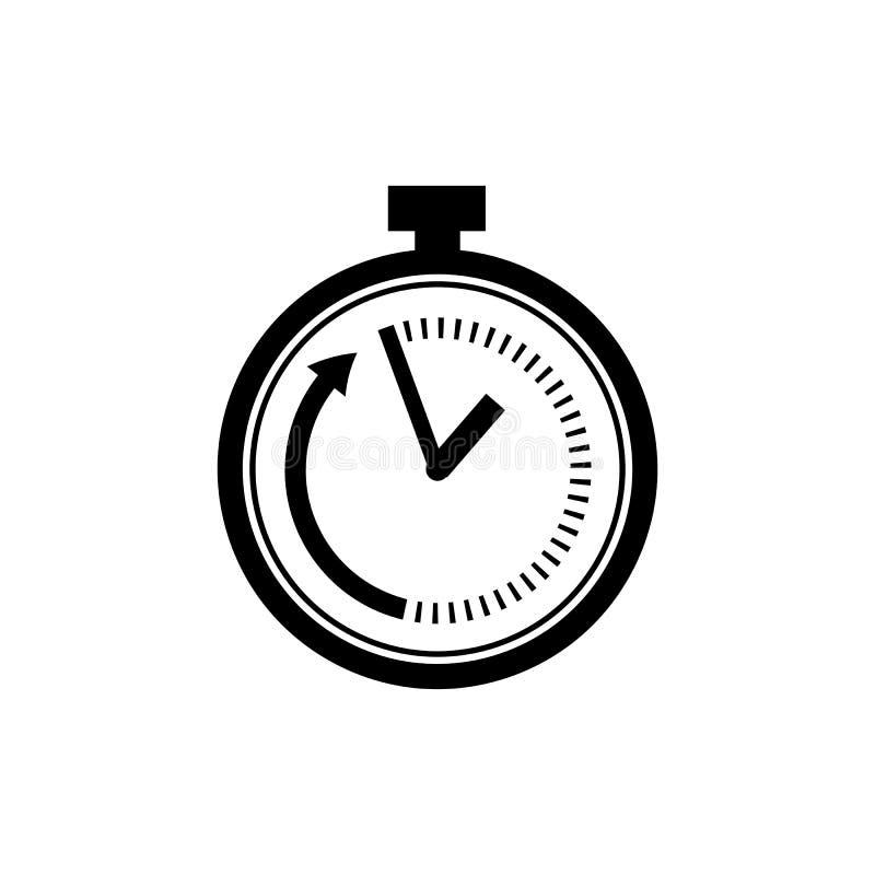 在平的样式的期限象 速度标志 向量例证