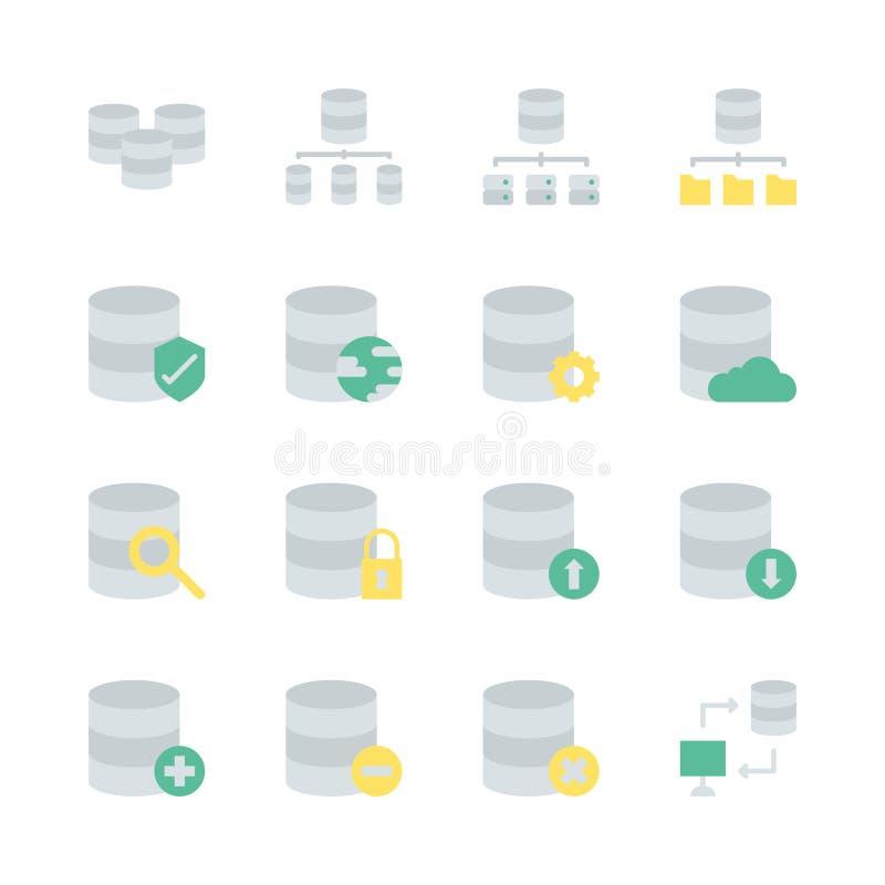 在平的设计设置的数据库系统象 r 向量例证