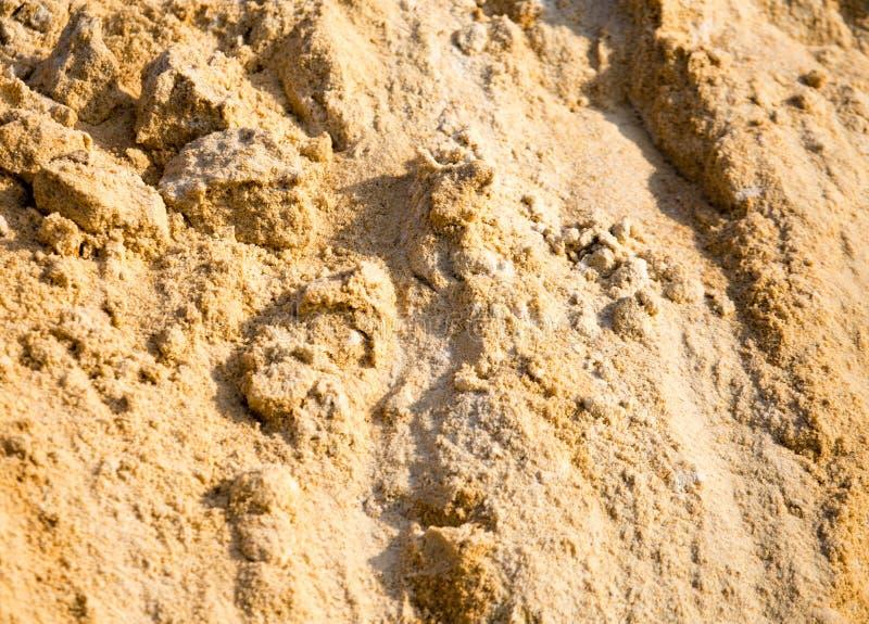 在建造场所的沙子作为抽象背景 库存图片
