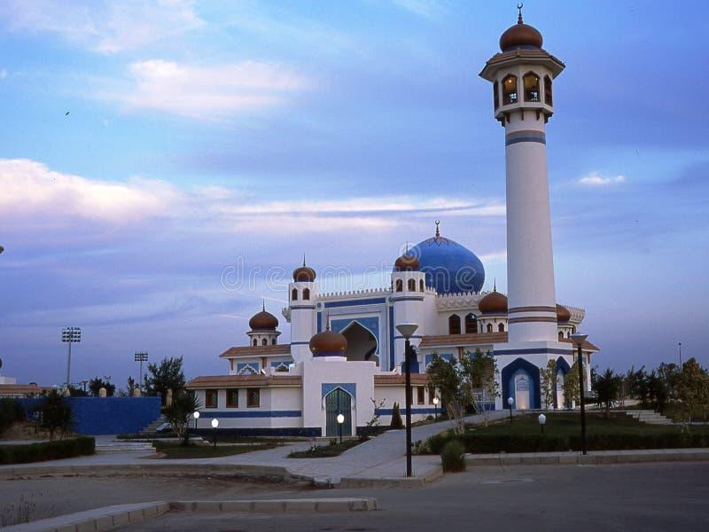在开罗附近的清真寺在埃及 免版税库存图片