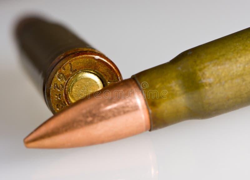 在弹药筒位于的二间 免版税图库摄影
