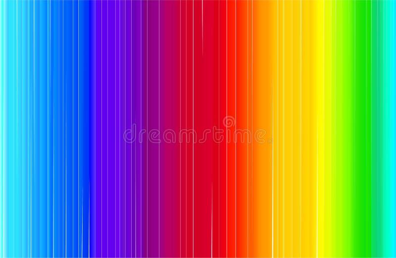 在彩虹样式的摘要现代明亮的横幅 向量例证