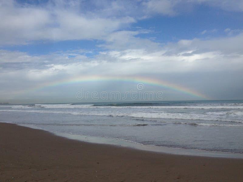 在彩虹海运 库存照片