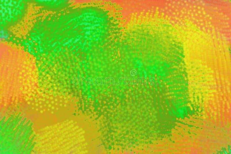 在彩虹颜色的Happpiness 当代创造性设计 皇族释放例证