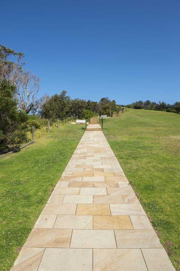 在悉尼附近的美丽的公园 库存照片