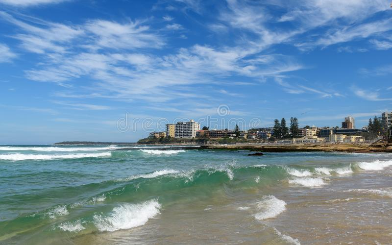 在悉尼附近的Cronulla海滩 免版税库存照片