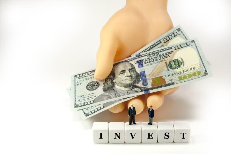 在您的未来投资! 图库摄影